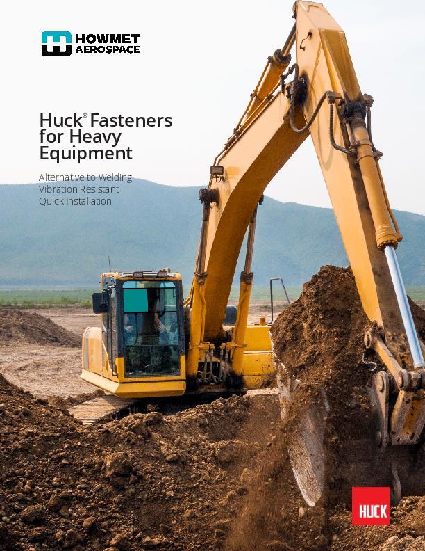 Huck Heavy Equipment Brochure