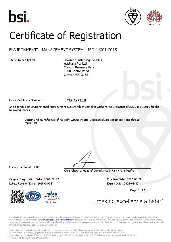ISO 14001_2015 EMS 2020-2023