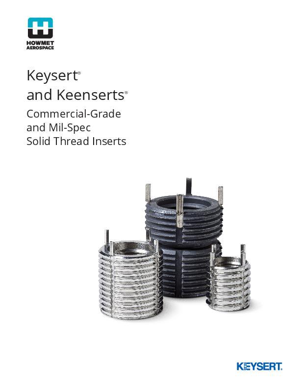 Keysert and Keenserts Catalog