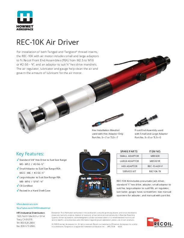 REC-10 Flyer