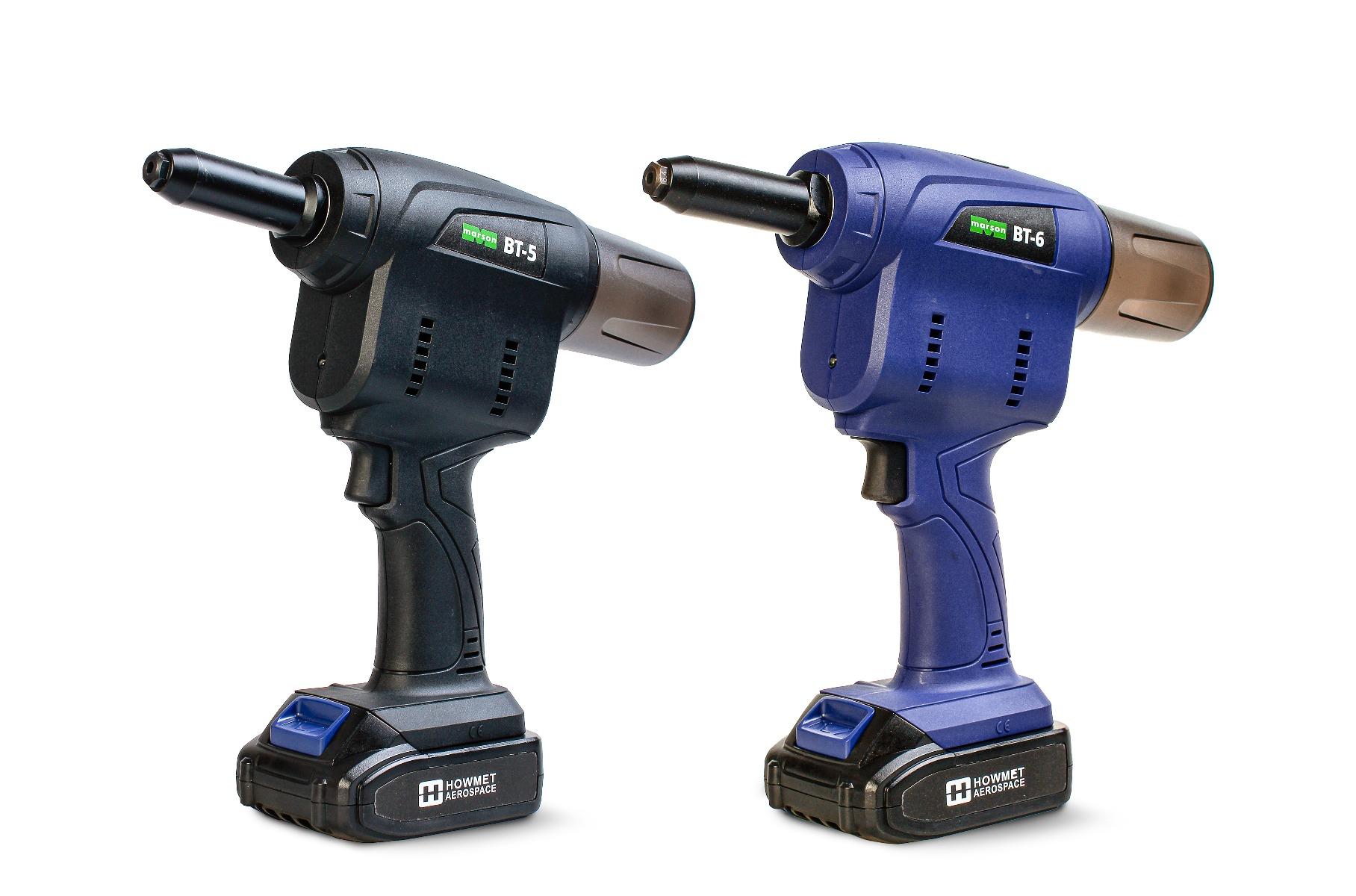 Marson BT5 and BT6 battery rivet tools