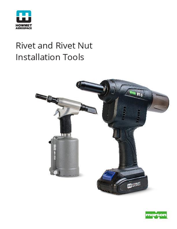 Rivet and Rivet Nut Tooling Catalog